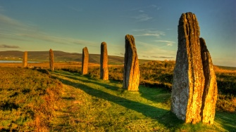 Ring of Brodgar Stones Orkney