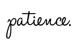 patience-love
