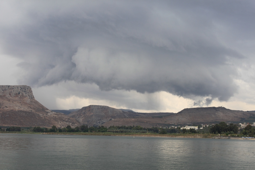 11.3.14 Sea of Galilee Boat Storm (2)
