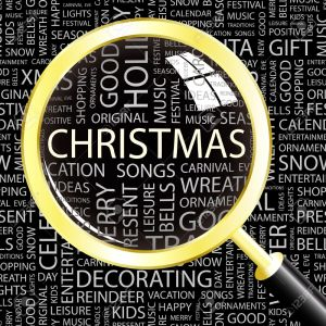 8840292-christmas-magnifying-glass-over-background-with-different-association-terms-vector-illustration-stock-vector